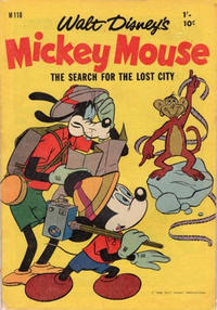 Cover Thumbnail for Walt Disney's Mickey Mouse (W. G. Publications; Wogan Publications, 1956 series) #110