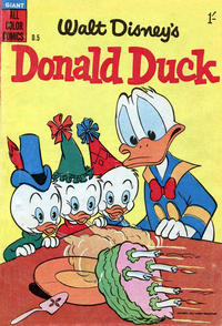 Cover Thumbnail for Walt Disney's Donald Duck (W. G. Publications; Wogan Publications, 1954 series) #5