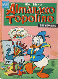 Cover Thumbnail for Almanacco Topolino (Arnoldo Mondadori Editore, 1957 series) #105