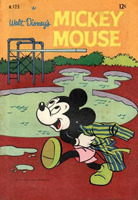 Cover Thumbnail for Walt Disney's Mickey Mouse (W. G. Publications; Wogan Publications, 1956 series) #125