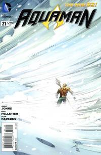 Cover Thumbnail for Aquaman (DC, 2011 series) #21 [Paul Pelletier Standard Cover]