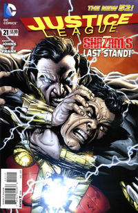 Cover Thumbnail for Justice League (DC, 2011 series) #21
