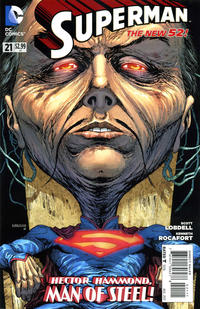 Cover Thumbnail for Superman (DC, 2011 series) #21 [Direct Sales]