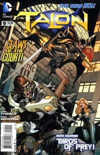 Cover Thumbnail for Talon (DC, 2012 series) #9