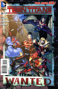 Cover Thumbnail for Teen Titans (DC, 2011 series) #21 [Direct Sales]