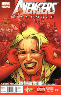 Cover Thumbnail for Avengers Assemble (Marvel, 2012 series) #16 [Joe Quinones Cover]