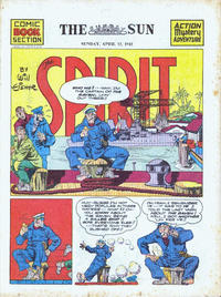 Cover Thumbnail for The Spirit (Register and Tribune Syndicate, 1940 series) #4/12/1942