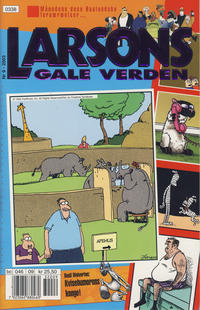 Cover Thumbnail for Larsons gale verden (Bladkompaniet / Schibsted, 1992 series) #9/2003