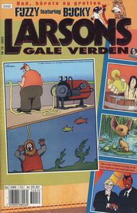Cover Thumbnail for Larsons gale verden (Bladkompaniet / Schibsted, 1992 series) #10/2003