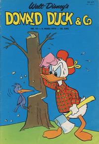 Cover Thumbnail for Donald Duck & Co (Hjemmet / Egmont, 1948 series) #10/1975