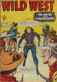 Cover Thumbnail for Wild West (Bell Features, 1948 series) #1