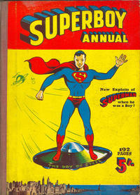 Cover Thumbnail for Superboy Annual (Atlas Publishing, 1953 series) #1954-55
