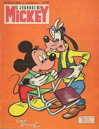 Cover Thumbnail for Le Journal de Mickey (Disney Hachette Presse, 1952 series) #393