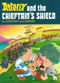 Cover Thumbnail for Asterix (Hodder & Stoughton, 1969 series) #18 - Asterix and the Chieftain's Shield [1st printing]