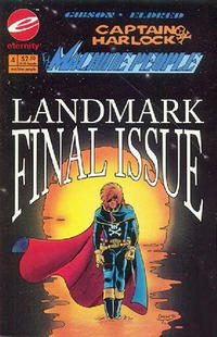 Cover Thumbnail for Captain Harlock: The Machine People (Malibu, 1993 series) #4