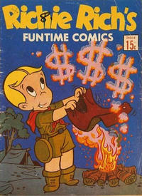 Cover Thumbnail for Richie Rich's Funtime Comics (Magazine Management, 1970 ? series) #24004