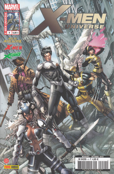 Cover for X-Men Universe (Panini France, 2012 series) #4