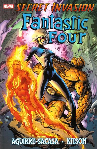 Cover for Secret Invasion: Fantastic Four (Marvel, 2009 series)