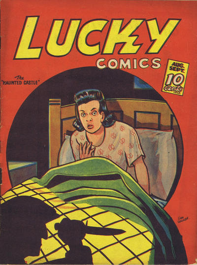 Cover for Lucky Comics (Maple Leaf Publishing, 1941 series) #v2#5