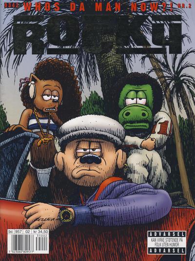 Cover for Rocky (Bladkompaniet / Schibsted, 2003 series) #2/2003