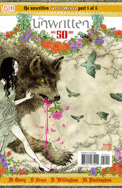Cover for The Unwritten (DC, 2009 series) #50