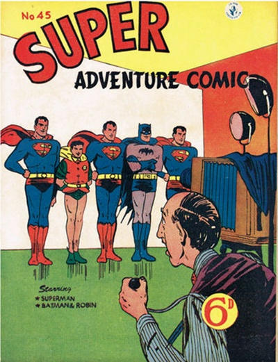 Cover for Super Adventure Comic (K. G. Murray, 1950 series) #45