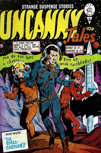 Cover for Uncanny Tales (Alan Class, 1963 series) #110