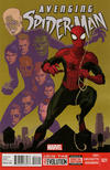 Cover for Avenging Spider-Man (Marvel, 2012 series) #21 [Direct Edition]