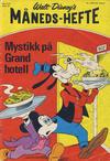 Cover for Walt Disney's Månedshefte (Hjemmet / Egmont, 1967 series) #9/1973