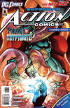 Cover for Action Comics (DC, 2011 series) #6 [Combo-Pack Variant by Andy Kubert]