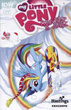 Cover Thumbnail for My Little Pony: Friendship Is Magic (2012 series) #1 [Cover RE - Hastings Exclusive - Amy Mebberson]