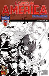 Cover for Captain America Comics 70th Anniversary Special (Marvel, 2009 series) #1 [Sketch Variant Cover]