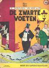 Cover for De avonturen van Nero en Cº (Het Volk, 1961 series) #[11] - De zwarte voeten [herdruk 1960]