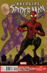 Cover Thumbnail for Avenging Spider-Man (Marvel, 2012 series) #21 [Direct Edition]