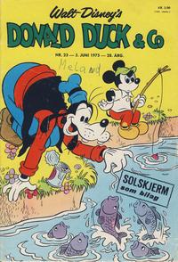 Cover Thumbnail for Donald Duck & Co (Hjemmet / Egmont, 1948 series) #23/1975