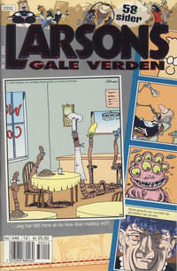 Cover Thumbnail for Larsons gale verden (Bladkompaniet / Schibsted, 1992 series) #12/2003