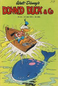 Cover Thumbnail for Donald Duck & Co (Hjemmet / Egmont, 1948 series) #22/1975