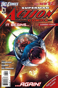 Cover for Action Comics (DC, 2011 series) #5 [Incentive Cover Edition]
