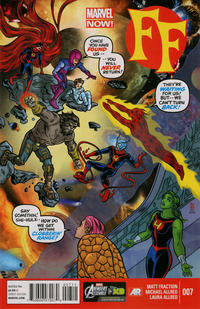 Cover Thumbnail for FF (Marvel, 2013 series) #7