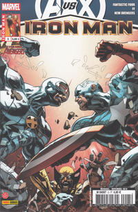 Cover Thumbnail for Iron Man (Panini France, 2012 series) #5