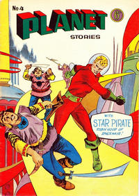 Cover Thumbnail for Planet Stories (Atlas Publishing, 1961 series) #4