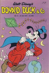 Cover Thumbnail for Donald Duck & Co (Hjemmet / Egmont, 1948 series) #31/1975