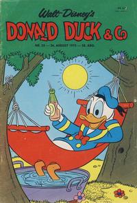 Cover Thumbnail for Donald Duck & Co (Hjemmet / Egmont, 1948 series) #35/1975