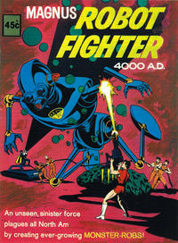 Cover Thumbnail for Magnus Robot Fighter 4000 A.D. (Magazine Management, 1975 ? series) #29029