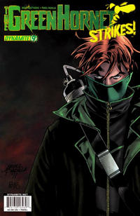 Cover Thumbnail for The Green Hornet Strikes (Dynamite Entertainment, 2010 series) #9 [Main Cover Ariel Padilla]