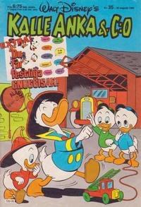 Cover Thumbnail for Kalle Anka & C:o (Hemmets Journal, 1957 series) #35/1985