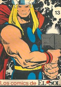 Cover Thumbnail for Los Comics de El Sol (Planeta DeAgostini, 1990 series) #13