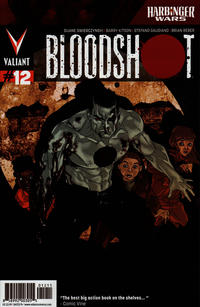 Cover Thumbnail for Bloodshot (Valiant Entertainment, 2012 series) #12 [Cover A - Kalman Andrasofszky]