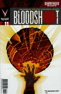 Cover Thumbnail for Bloodshot (Valiant Entertainment, 2012 series) #11 [Cover A - Kalman Andrasofszky]