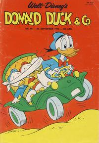 Cover Thumbnail for Donald Duck & Co (Hjemmet / Egmont, 1948 series) #40/1975